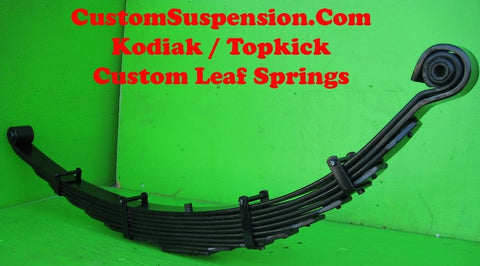 "Kodiak Topkick C4500 Custom Front Lift Springs 6"" - Pair"