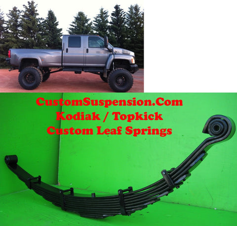 "Kodiak Topkick C4500 Custom Front Lift Springs 10"" - Pair"