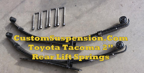"Toyota Tacoma Prerunner 2wd/4wd 2005 - 2019 Lift Springs 2"" Standard - Pair"