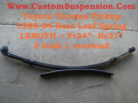 Toyota Tacoma 1998-04 OEM Rear Leaf Springs
