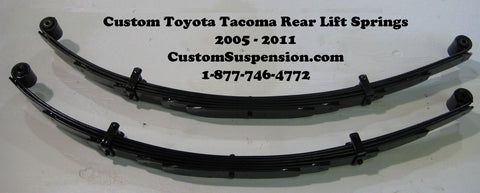 "Tacoma Prerunner 2wd/4wd 2005-2016 Lift Springs 4"" - Pair"