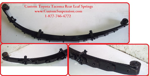 "Toyota Tacoma (98-04) Rear Lift Spring - 06"" - Pair"