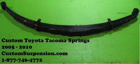 "Toyota Tacoma Prerunner 2wd/4wd 2005-2016 Lift Springs 6"" - Pair"
