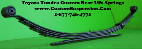 "Toyota Tundra 2000 - 2006 Rear Lift Springs 4"" - Pair"