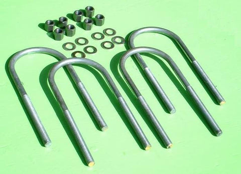 Ford 1978-79 Bronco 4wd Rear U-bolts - Set