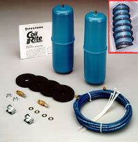 "2005-2008 Ford F350 (w/o factory bed) - Firestone ""Coil-Rite"" Air Bag Helper Springs (NO-DRILL) [FRONT]"