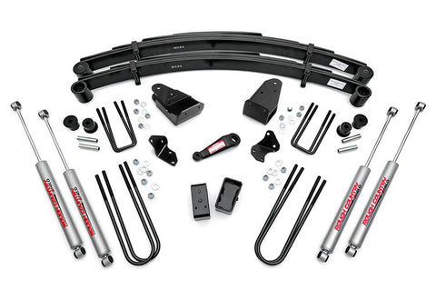 Ford 82-85 F350 4WD -- 4IN FORD SUSPENSION LIFT KIT