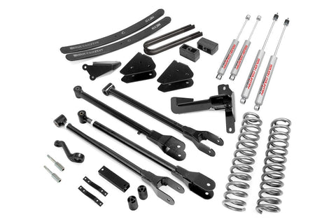 6IN FORD 4-LINK SUSPENSION LIFT KIT (05-07 F-250/350 | DIESEL - W/OVERLOADS )