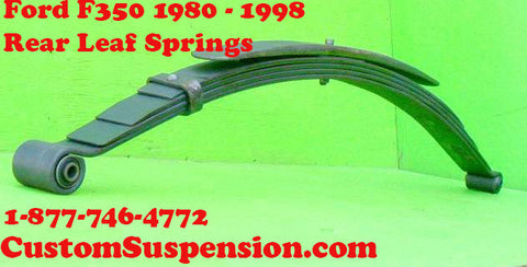 Ford F350 (1980-98) Rear Leaf Springs OEM HD- Pair