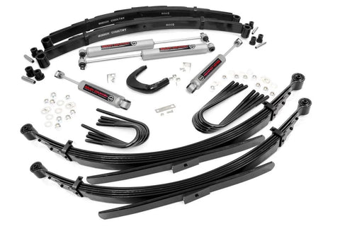 4IN GM SUSPENSION LIFT SYSTEM (56IN REAR SPRINGS)
