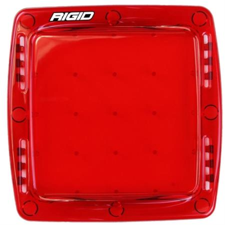 Rigid Industries Q Series Light Cover (Red) - 103953