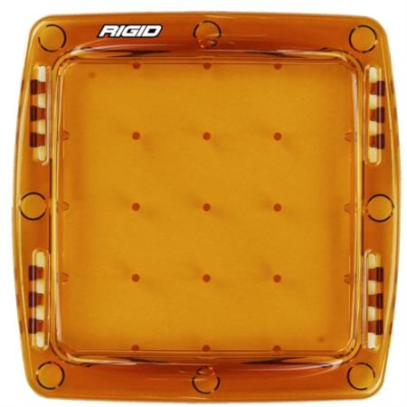 Rigid Industries Q Series Light Cover (Amber) - 103933