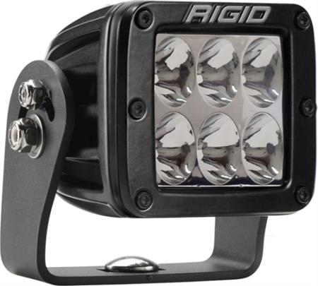 Rigid Industries D-Series Dually Heavy-Duty Driving Light - 521313MIL