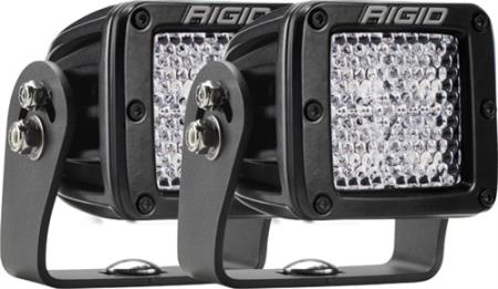 Rigid Industries D-Series Dually Heavy-Duty Diffused Light - 522513MIL