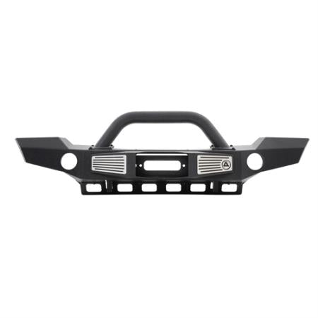 Smittybilt XRC Atlas Front Bumper with Grill Guard and Fog Light Holes (Black) - 76892
