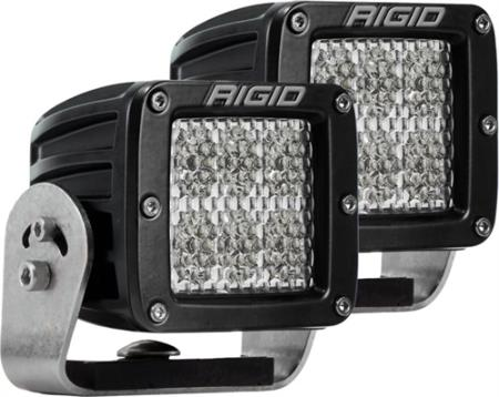 Rigid Industries D-Series Dually Heavy-Duty Diffused Lights - 522523