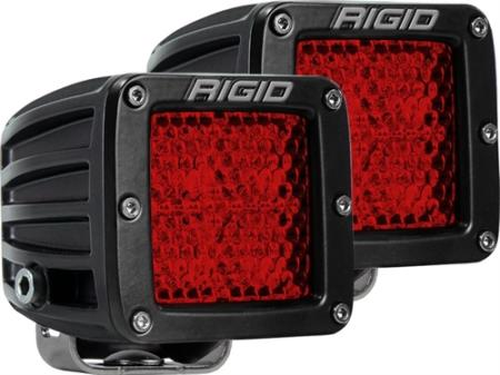 Rigid Industries D-Series Dually Rear Facing Dual Function LED Lights - 90153