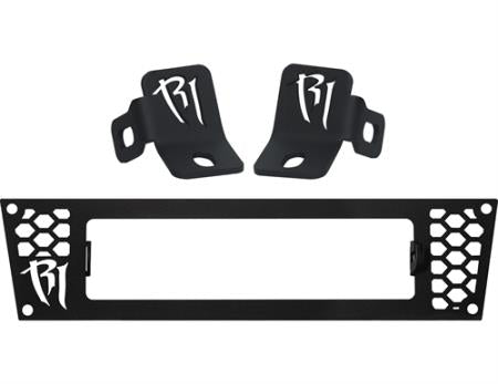 Rigid Industries Grille and A-Pillar Mounts (Black ) - 46546