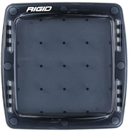 Rigid Industries Q Series Light Cover (Smoke) - 103983
