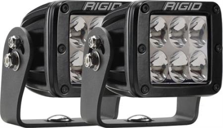 Rigid Industries D-Series Dually Heavy-Duty Driving Light - 522313MIL