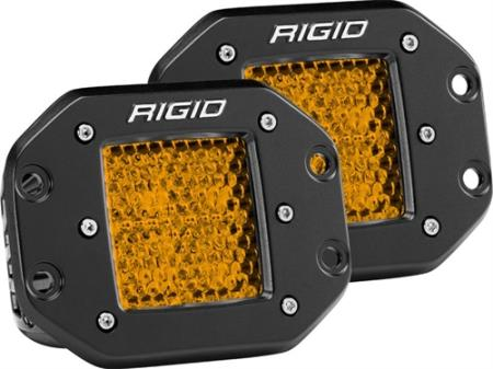 Rigid Industries D-Series Dually Rear Facing Dual Function LED Lights - 90152
