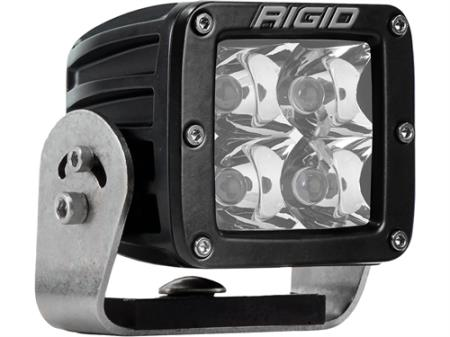 Rigid Industries D-Series Dually Heavy-Duty 10 Degree Spot LED Light - 221223