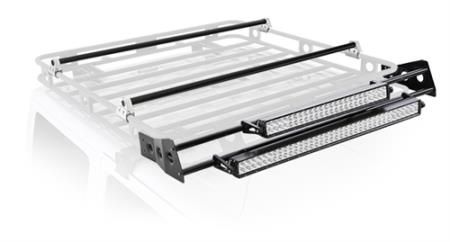 Smittybilt 4.5' Defender Rack Light Bar Mount Kit - D8045