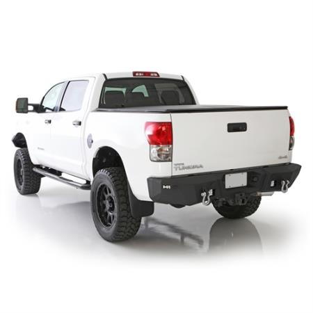 Smittybilt M1 Toyota FJ Rear Bumper with D-ring Mounts and Additional Rear Lights Included (Black) - 614840
