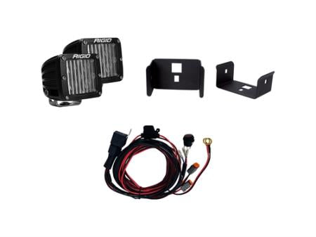 Rigid Industries Single Fog Light Kit - 41614