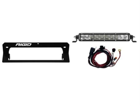 Rigid Industries Poloaris RZR Turbo Hood Scoop Mount Kit - 41642