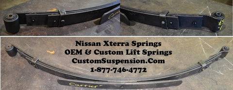 Nissan Xterra OEM 69-257 Rear Springs 2000 - 2004 - Pair