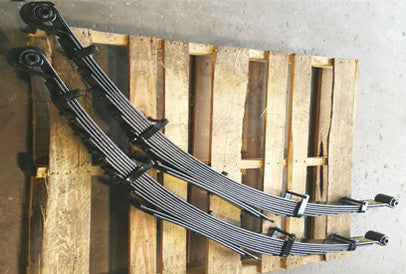 F350 Front Leaf Springs (1999-04) Hd 2in Lift - Pair