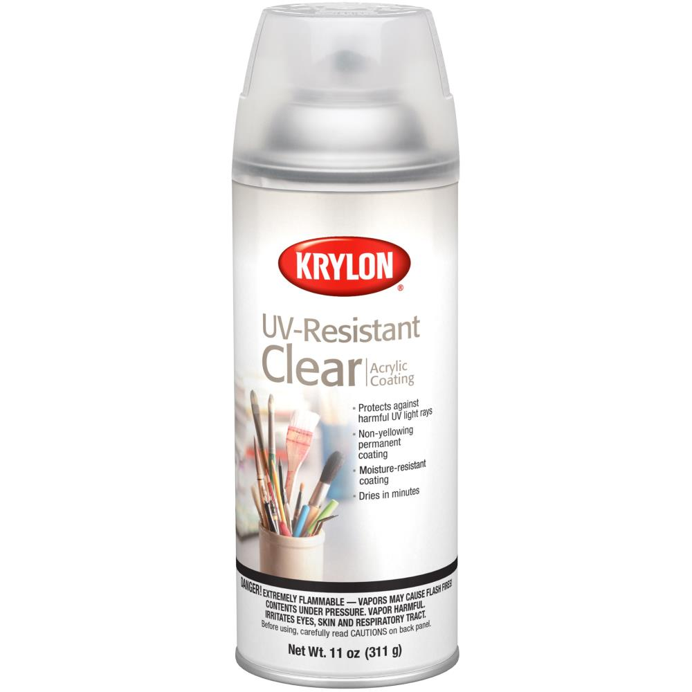 Krylon® Clear UV-Resistant Clear Spray