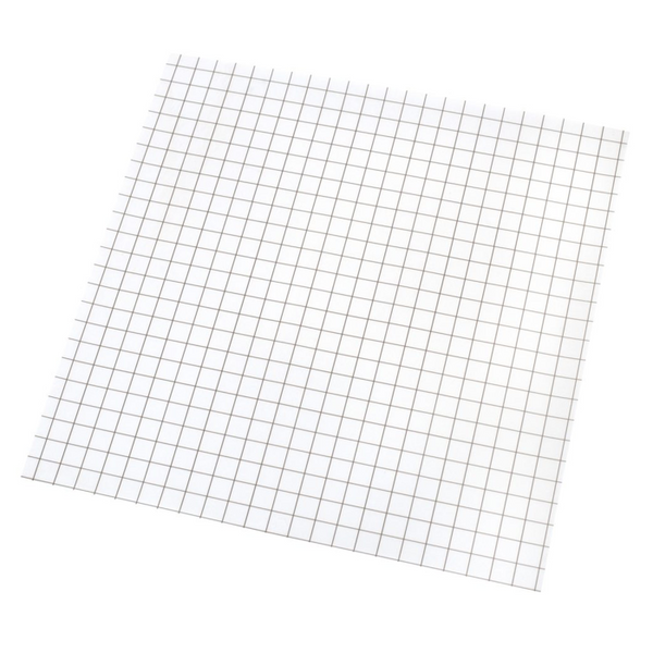 "12"" x 12"" Grid-Lined • Clear • 4 Pk."