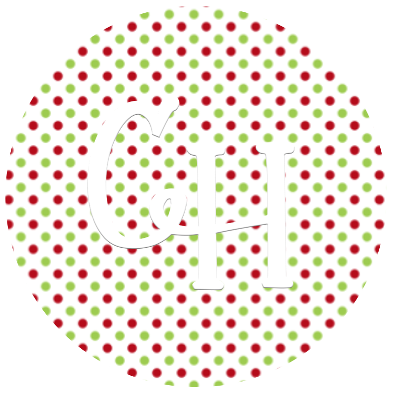 HTV Print • Christmas Tiny Dots