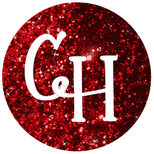 HTV Glitter • Fireball | Red