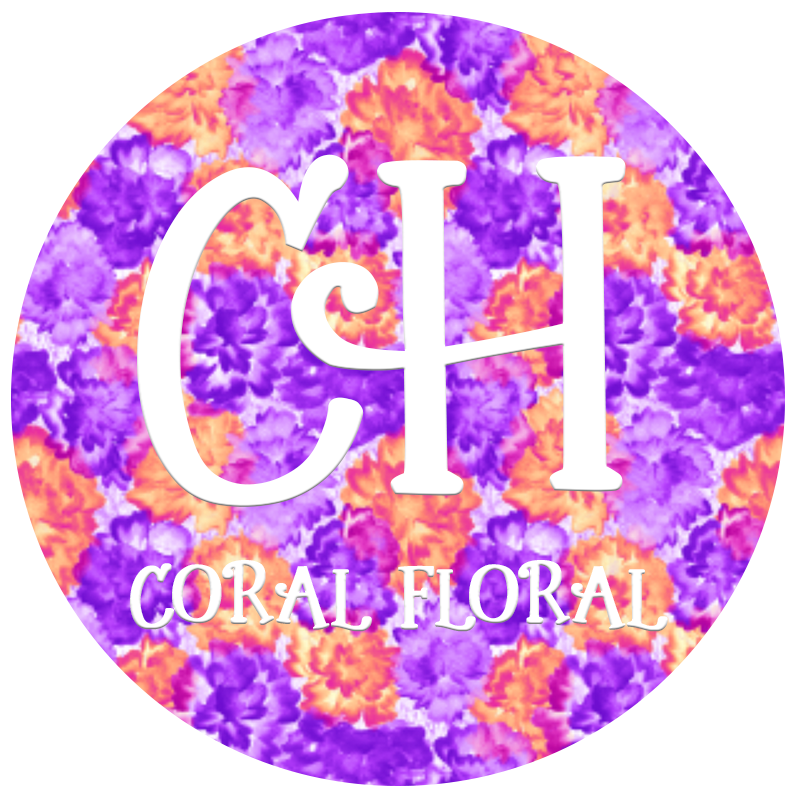 HTV Print • Coral Floral