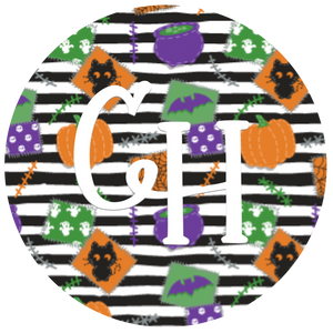 HTV Print • Halloween Patches