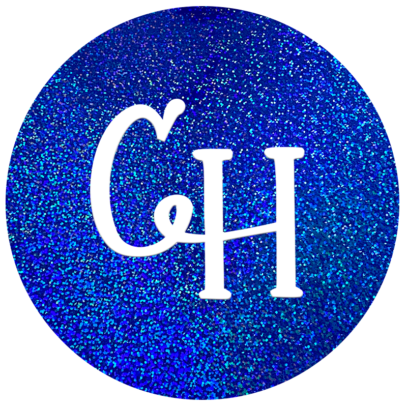 HTV Holographic • Royal Blue