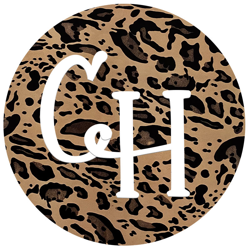 HTV • Metallic Print | Gold Cheetah