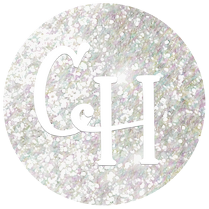 HTV Glitter • Moondust | Rainbow White