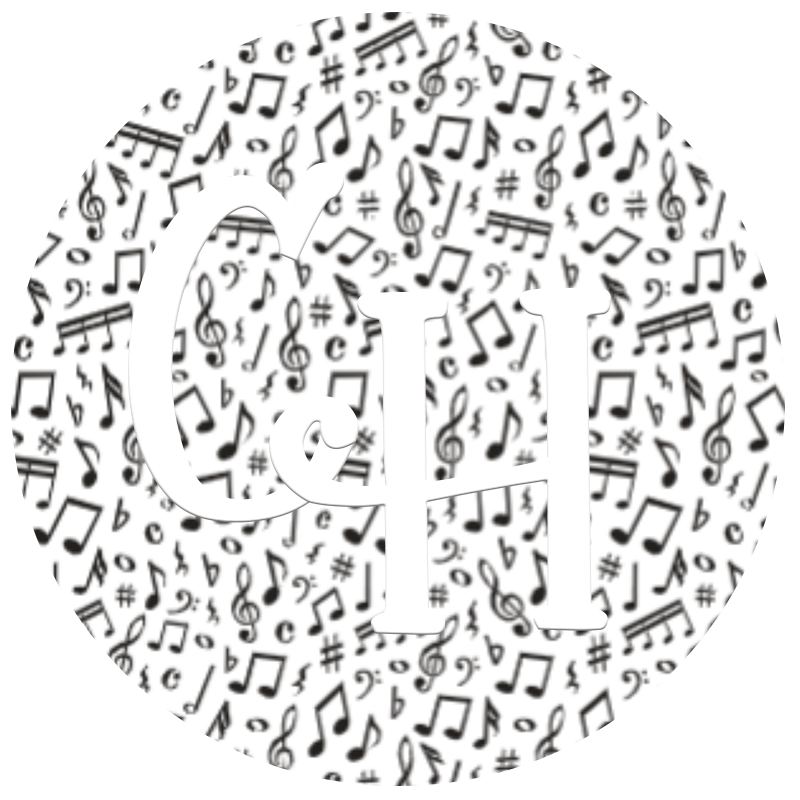 HTV Print • Music Notes
