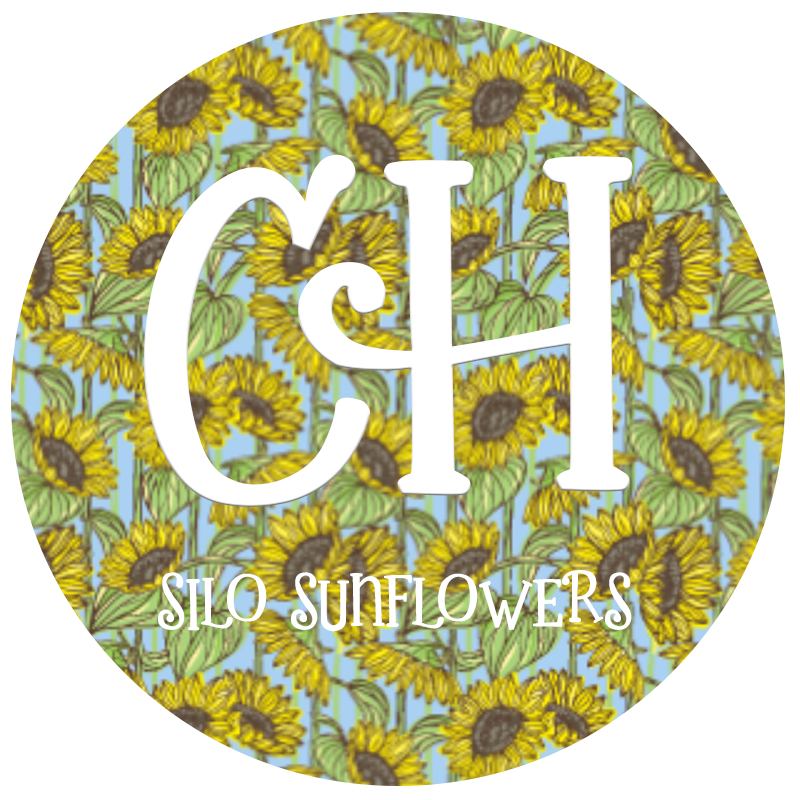 HTV Print • Silo Sunflowers