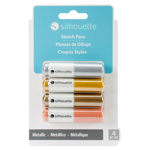 Sketch Pens • Metallic 4 Pk.