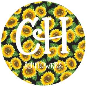 HTV Print • Sunflowers | Dark