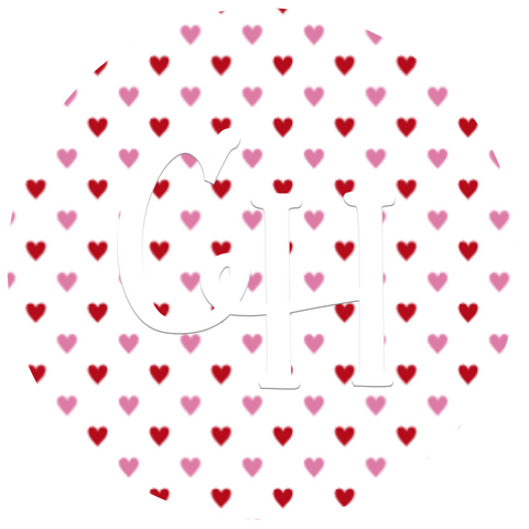 HTV Print • Tiny Hearts | Pink & Red