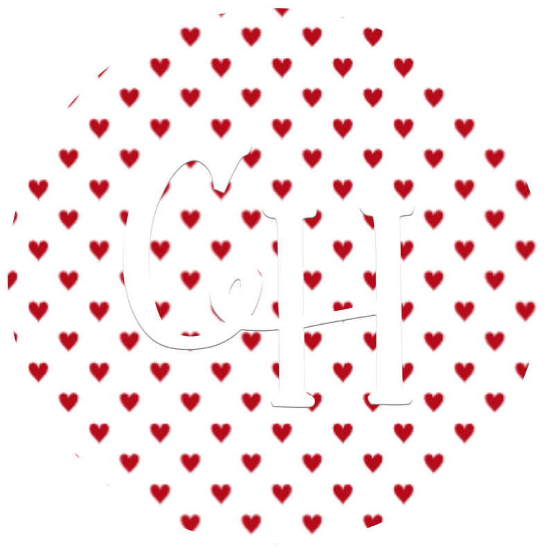 HTV Print • Tiny Hearts | Red