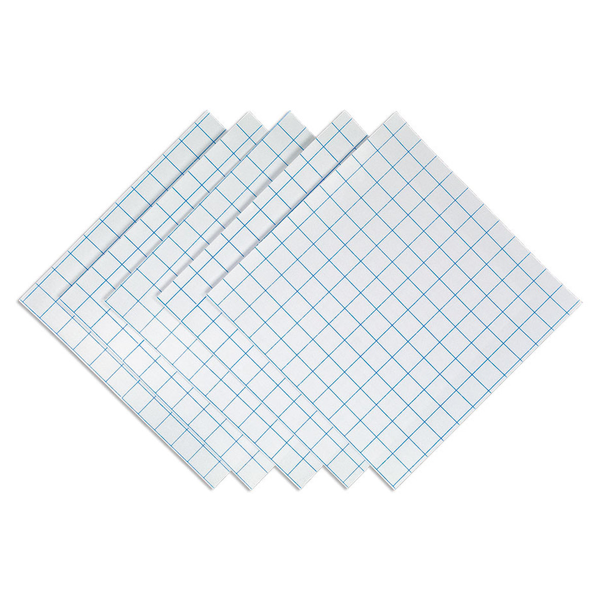 "12"" x 24"" Grid-Lined • Clear"