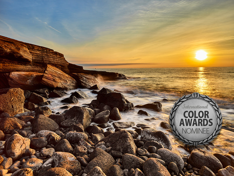 """Douce Caresse du Soleil"" Nominated in the Nature Category of the 13th Annual International Color Awards"
