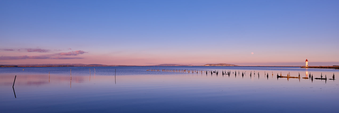 Calm Waters - Blue Hour on the Étang de Thau